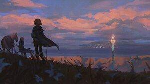 Fantasy Art Artwork Video Game Art The Legend Of Zelda The Legend Of Zelda Breath Of The Wild Link Z 2500x1153 Wallpaper