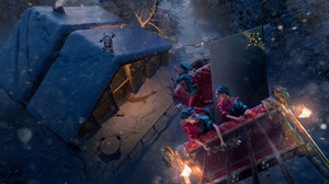 Christmas Elf Night Santa Winter 1920x1100 Wallpaper