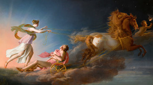 Aurora Cephalus Greek Mythology Classic Art Painting 5000x2962 Wallpaper