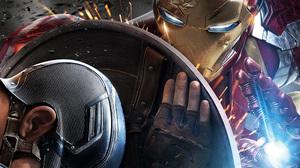 Captain America Iron Man 5120x2880 Wallpaper