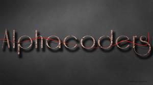 Artistic Alpha Coders 1920x1080 Wallpaper