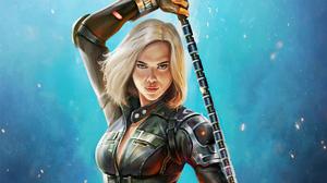 Marvel Comics Marvel Cinematic Universe Black Widow Avengers Infinity War 3840x2160 Wallpaper