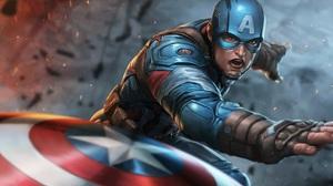 Captain America Shield Marvel Comics Marvel Cinematic Universe The Avengers 2880x1800 Wallpaper