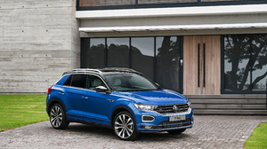 Blue Car Car Suv Volkswagen Volkswagen T Roc 3840x2554 Wallpaper
