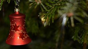 Bell Christmas Christmas Ornaments 1920x1280 Wallpaper