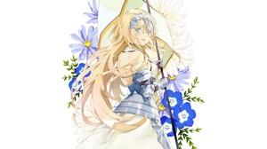 Jeanne D 039 Arc Fate Series Ruler Fate Grand Order 3088x1900 Wallpaper