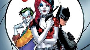 Batman Dc Comics Harley Quinn Joker 1920x1080 Wallpaper