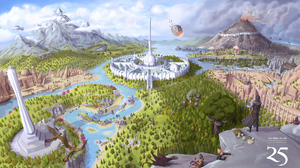 Tamriel Video Games The Elder Scrolls IV Oblivion Fantasy City 3840x2160 Wallpaper