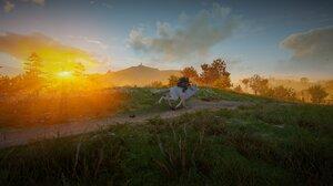 Assassins Creed Assassins Creed Valhalla Orange Landscape Eivor 2752x1152 Wallpaper