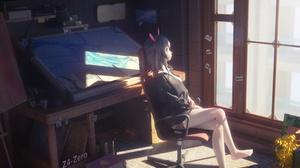 Anime Room Anime Girls Z 4 Zero 3840x2160 Wallpaper