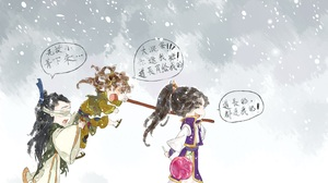 A Qing Xiao Xingchen Xue Yang 3507x2480 Wallpaper