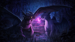 Dragon How To Train Your Dragon The Hidden World Night Fury Toothless How To Train Your Dragon 3940x2160 Wallpaper