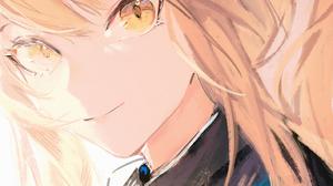 Anime Anime Girls Digital Art Artwork 2D Portrait Display Vertical Fanshu Arknights Blemishine Arkni 1417x2004 Wallpaper
