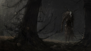 Creepy Creature The Witcher 3 Wild Hunt The Witcher 4000x2022 Wallpaper