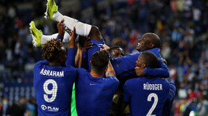 Chelsea FC Champions League Football Soccer Sport Footballers 4096x2811 Wallpaper