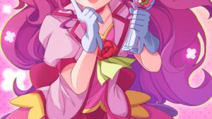 Pretty Cure Healin Good Precure Anime Girls 1464x2048 wallpaper