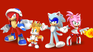Sonic The Hedgehog Amy Rose Miles Quot Tails Quot Prower Knuckles The Echidna 2133x1200 Wallpaper