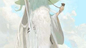 Ognjen Sporin Artwork Wizard Smoking Beard Fantasy Art Fantasy Men 1920x3022 Wallpaper