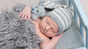 Baby Sleeping 3500x2336 Wallpaper