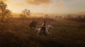 Red Dead Redemption 2 Video Game Characters Game Characters RTX PC Gaming 2560x1440 Wallpaper