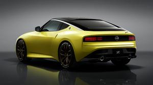 Nissan 400Z Nissan Car Vehicle Yellow Cars Sports Car 3840x2160 wallpaper