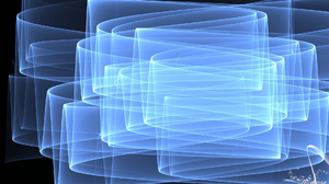 Abstract Artistic Blue Digital Art Fractal Gradient 1920x1080 wallpaper