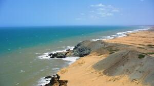 Coast Horizon Nature Sand Sea Water 1600x1200 wallpaper