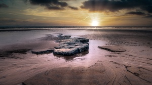 Sea Sunset 3840x2160 Wallpaper
