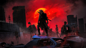 Post Apocalyptic Skeleton 3840x2160 Wallpaper