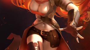 Illustration Artwork Digital Art Fan Art Drawing Fantasy Art Fantasy Girl Women Zarory Anime Anime G 2888x4000 Wallpaper