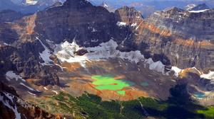 Forest Glacier Lake Landscape 1920x1200 wallpaper