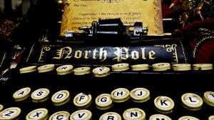 Christmas North Pole Typewriter 1920x1440 Wallpaper