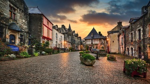 Brittany Building France House 2800x1575 Wallpaper