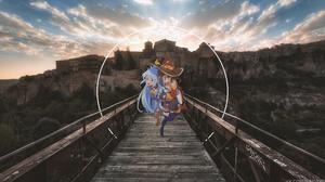 Aqua Konosuba Megumin Konosuba 3840x2160 Wallpaper