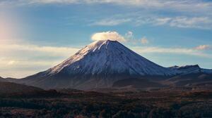 Mountains Landscape Volcano Nature Snowy Peak 2048x1152 Wallpaper