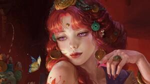 Artwork Fantasy Art Women Tea Me Anime 1920x1430 wallpaper