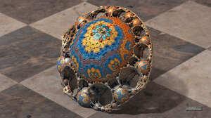 3D Fractal Fractal CGi Render Digital Art 3D 3840x2160 Wallpaper