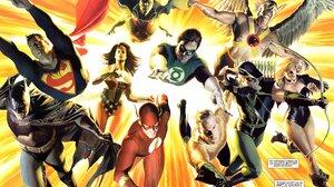 Aquaman Batman Black Canary Dinah Lance Flash Green Arrow Green Lantern Hal Jordan Hawkman Martian M 2988x2020 Wallpaper