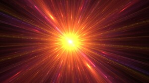 Sci Fi Space Supernova Yellow Orange Color 1920x1200 Wallpaper
