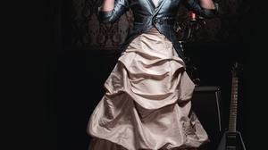 Candice Accola Women Candice King Blond Hair Women Indoors Actress Blue Jacket Blue Clothing Blue Cl 2134x2700 Wallpaper