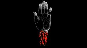 Music Black Hardcore Punk Hardcore Metalcore Cover Art Album Covers Hands Veins Red 4320x2700 Wallpaper