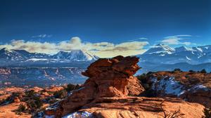 Mountain HDR Moab Desert Utah 2560x1600 Wallpaper