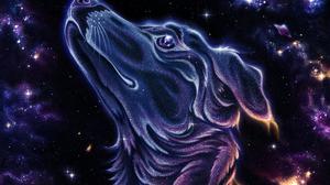 Laika Dog Animals Space Space Art Universe Sputnik Space Travel Space Shuttle Portrait Illustration 2625x3500 Wallpaper