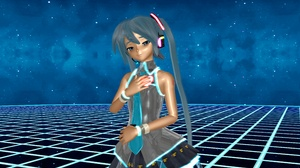 Blue Eyes Blue Hair Hatsune Miku Love Vocaloid 3840x2160 wallpaper