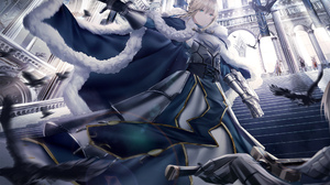 Anime Anime Girls Junpaku Karen Artwork Fate Series Fate Stay Night Fate Zero Artoria Pendragon Sabe 2000x1414 wallpaper