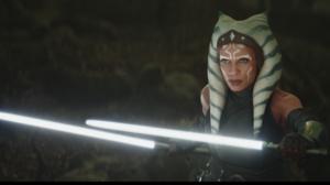 Star Wars Ahsoka Tano The Mandalorian Rosario Dawson Lightsaber Jedi 2334x1194 Wallpaper