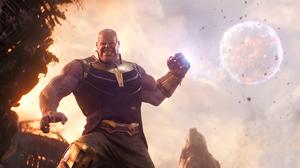 Avengers Infinity War Josh Brolin Marvel Comics Thanos 3412x1800 Wallpaper