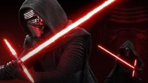 Star Wars Villains Mask Hoods 2880x2560 Wallpaper