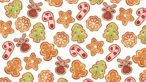 Christmas Pattern Texture 3000x2000 Wallpaper