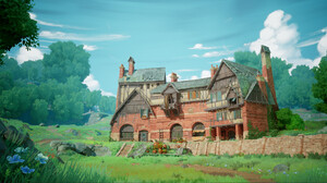 Farm House Nature Old Building Forest William Tate 1898x1006 Wallpaper